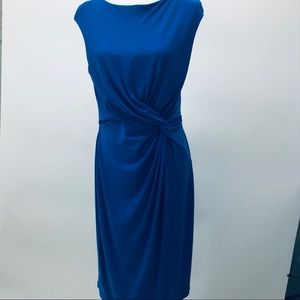 RALPH LAUREN Blue Midi Dress 12